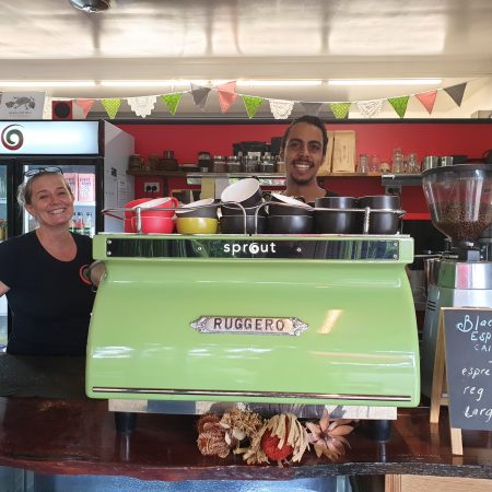 TRACQS proud to join with Sprout Juice and Coffee Bar to promote local employment opportunities