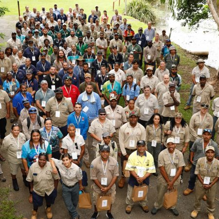TRACQS and community partners unite to celebrate World Ranger Day